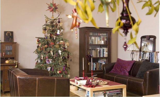 Dom na święta - choinka