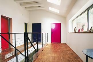 Drzwi wewnętrzne kolorowe