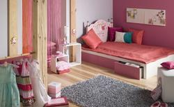 Pokój dla dziewczynki - bardzo dziewczęca aranżacja wnętrza