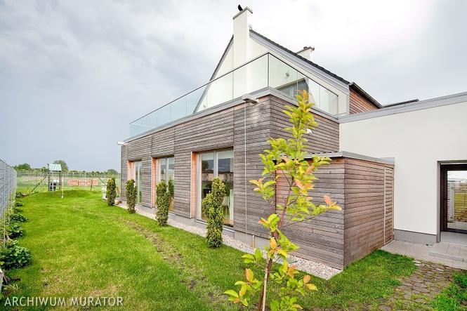 Skandynawski design elewacji domu