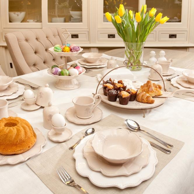 Wystrój domu na Wielkanoc: ceramika