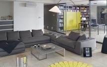 Czarno-biała aranżacja domu z żółtym akcentem. ZDJĘCIA z realizacji projektu mieszkania