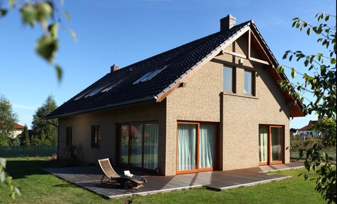 Dom wybudowany w technologii Wienerberger