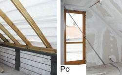 Podwyższenie dachu przez podniesienie ścianki kolankowej
