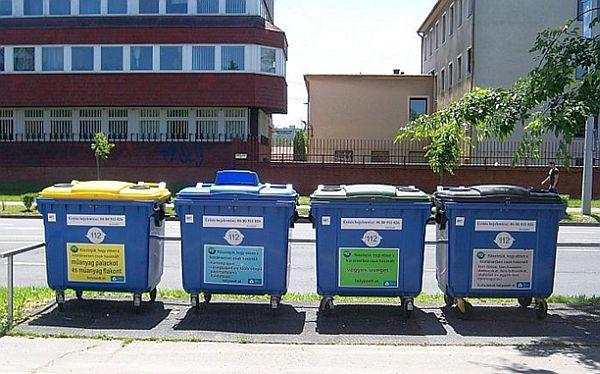 Segregacja odpadów na Węgrzech
