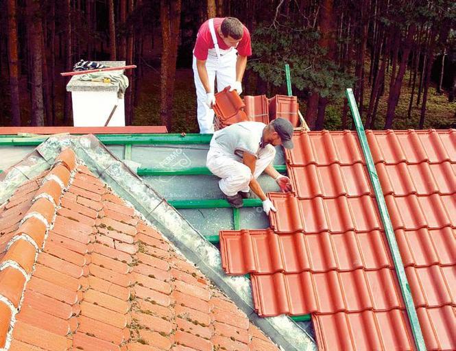 Naprawa dachu - wymiana pokrycia