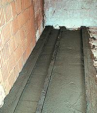 Wzmocnienie stropu pod kominek