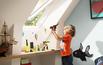 Okna dachowe w pokoju dziecięcym