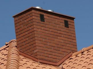 Wykończenie ścian komina