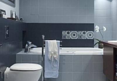 Woda niegroźna dla ścian i podłogi w łazience